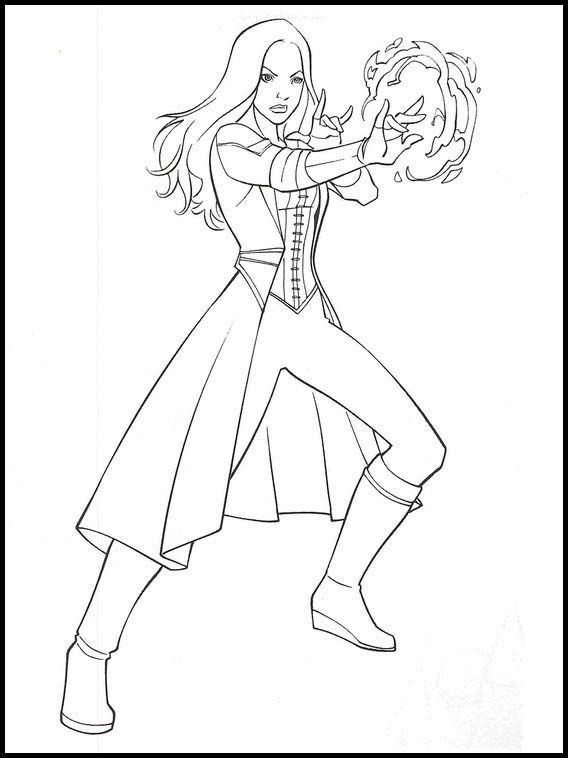 Avengers: Endgame Printable Coloring Book 28   Desenhos da ...