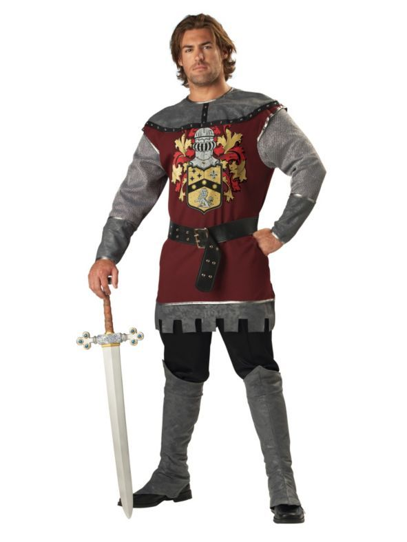 Adult Noble Knight Costume Noble knight, Knight costume and Costumes - 4 man halloween costume ideas