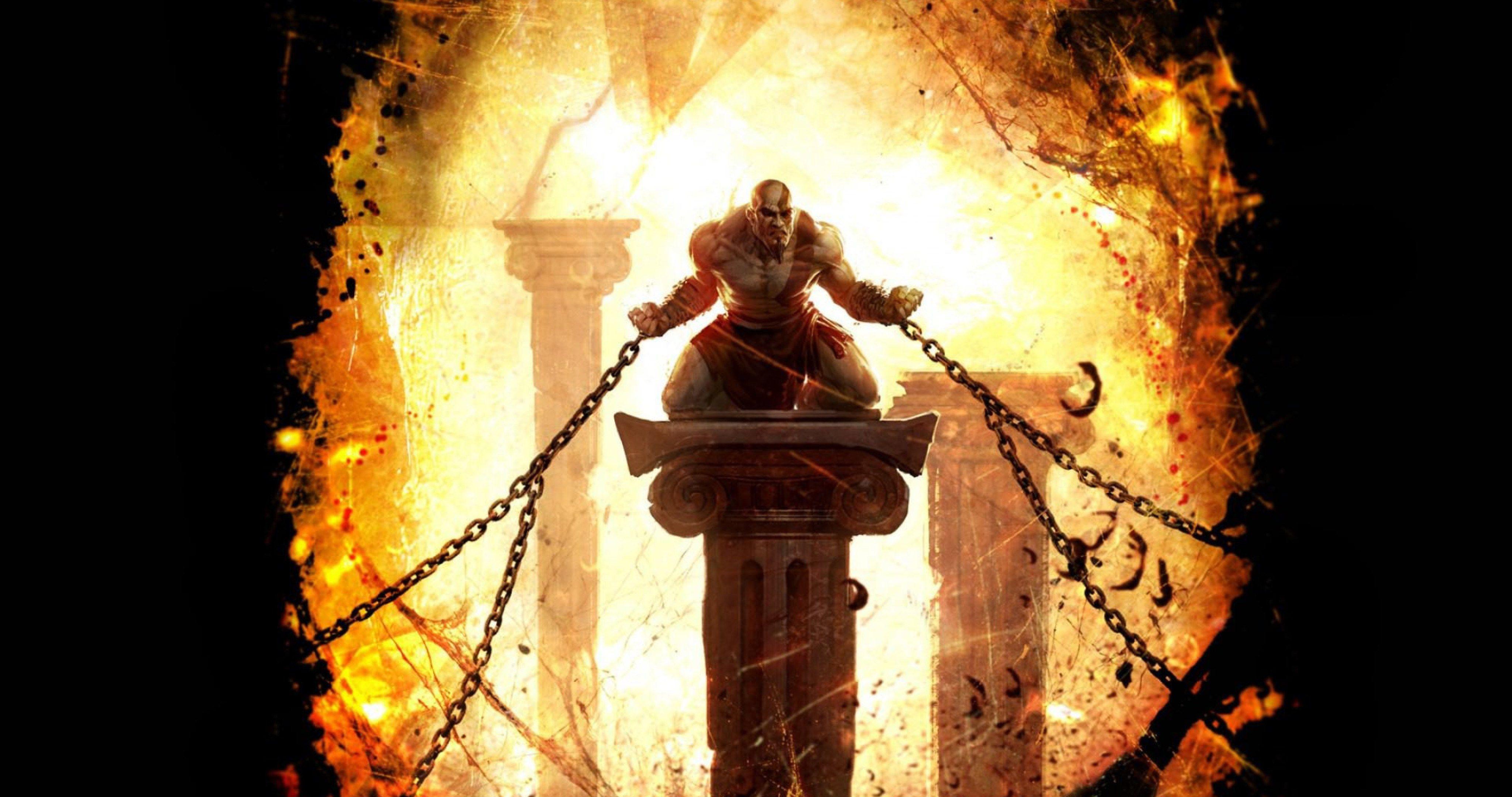 God Of War Ascension Game 4k Ultra Hd Wallpaper Kratos God