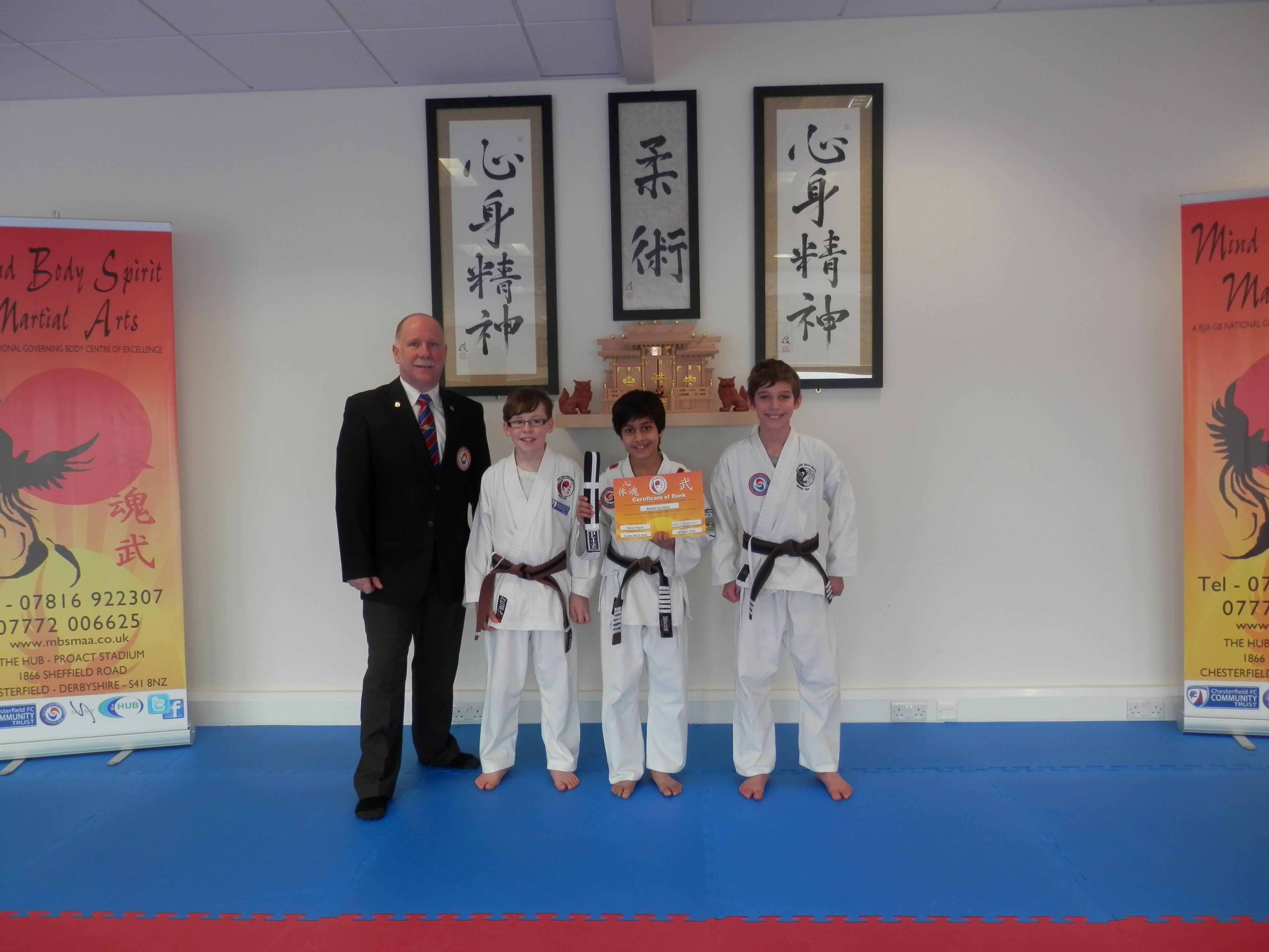 Successful Cadet Black Belt Uke S Mind Body Spirit