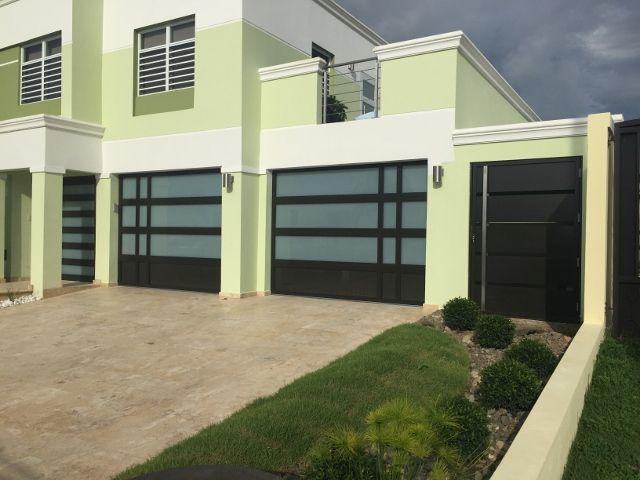 Puertas De Garaje En Aluminio Y Cristal Puerto Rico Garage Doors