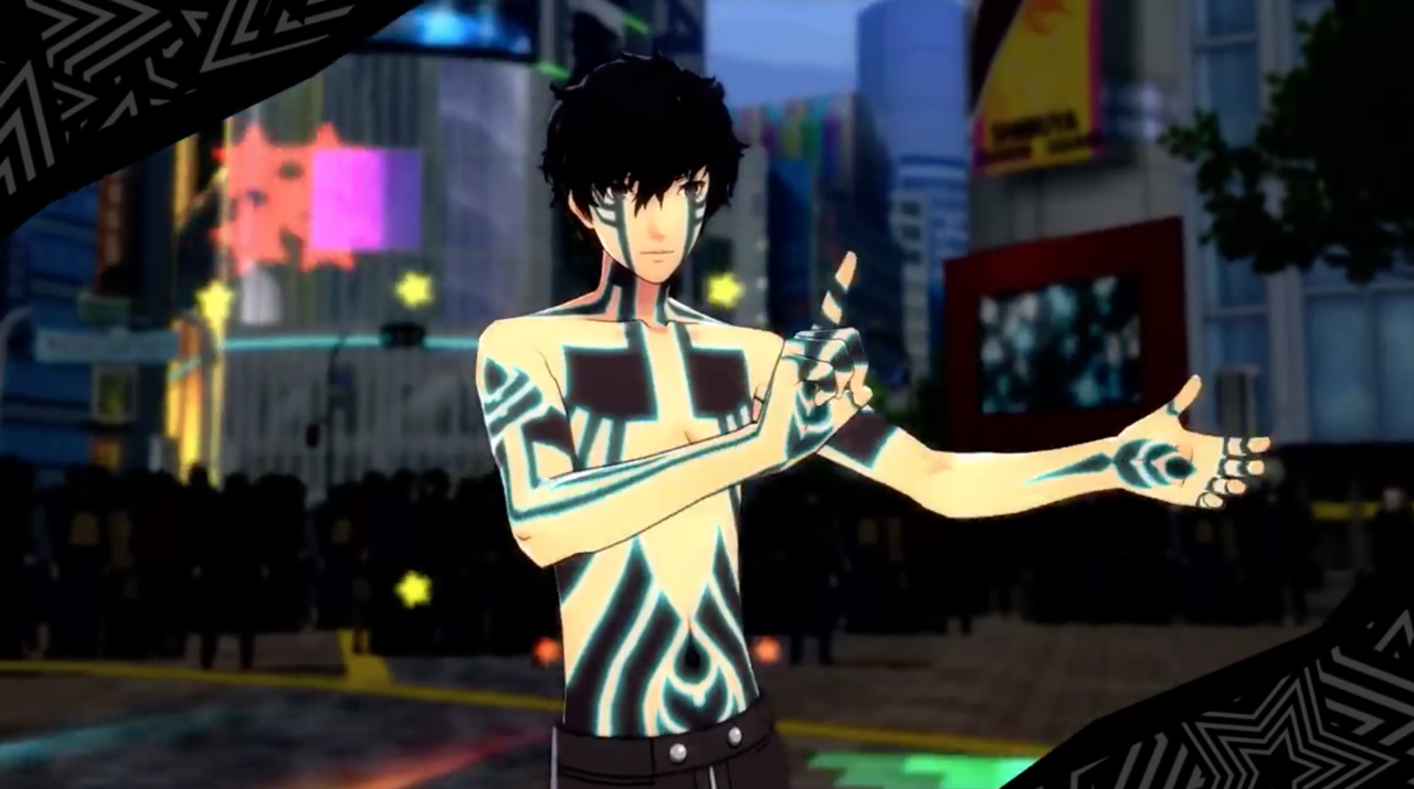 Persona 5: Dancing Star Night! (DLC outfits) Looking cool