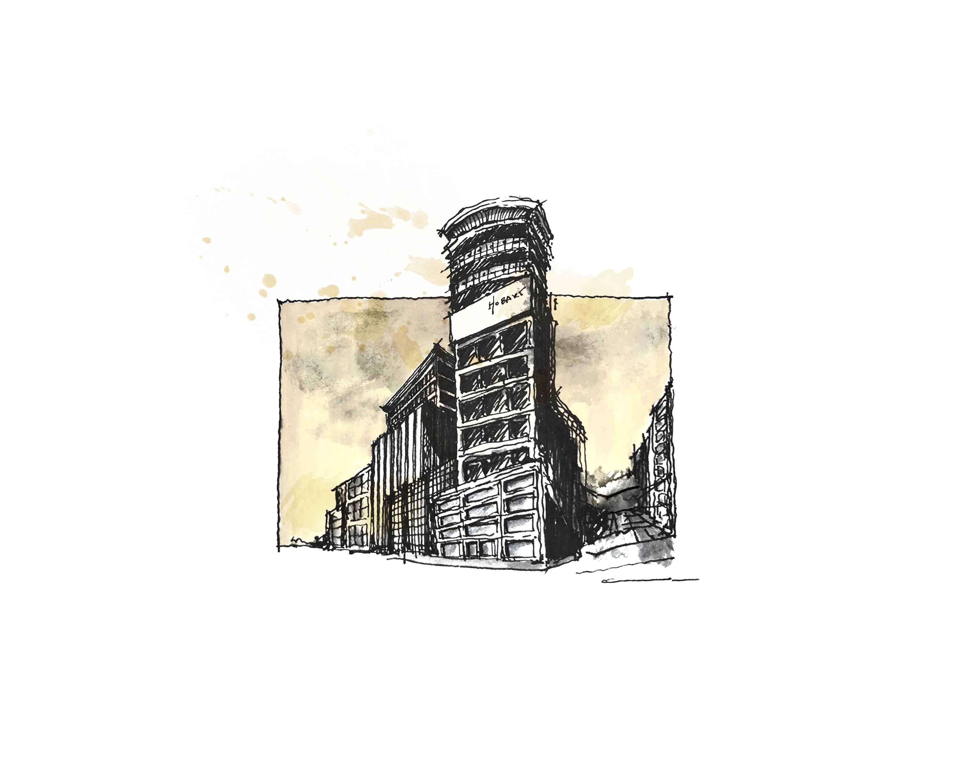 Print: Historic Hobart Building // San Francisco | Johnny Lemoine\'s ...