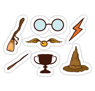 Epingle Par Mincke Van Veen Sur Stickers Autocollants Harry Potter Harry Potter Fan Art Stickers Harry Potter