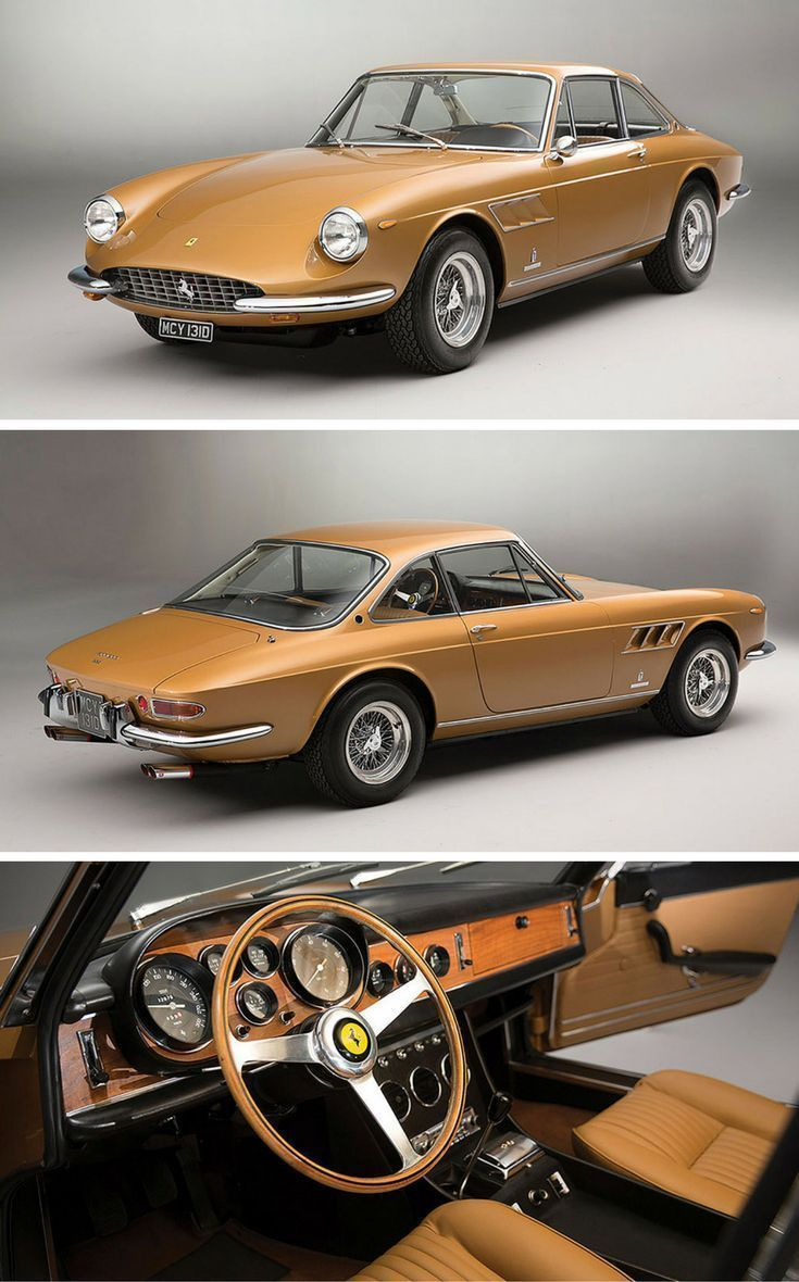 Premium gasoline Ferrari 2019 classic car Ferrari 330 GTC from 1966 in favor of …