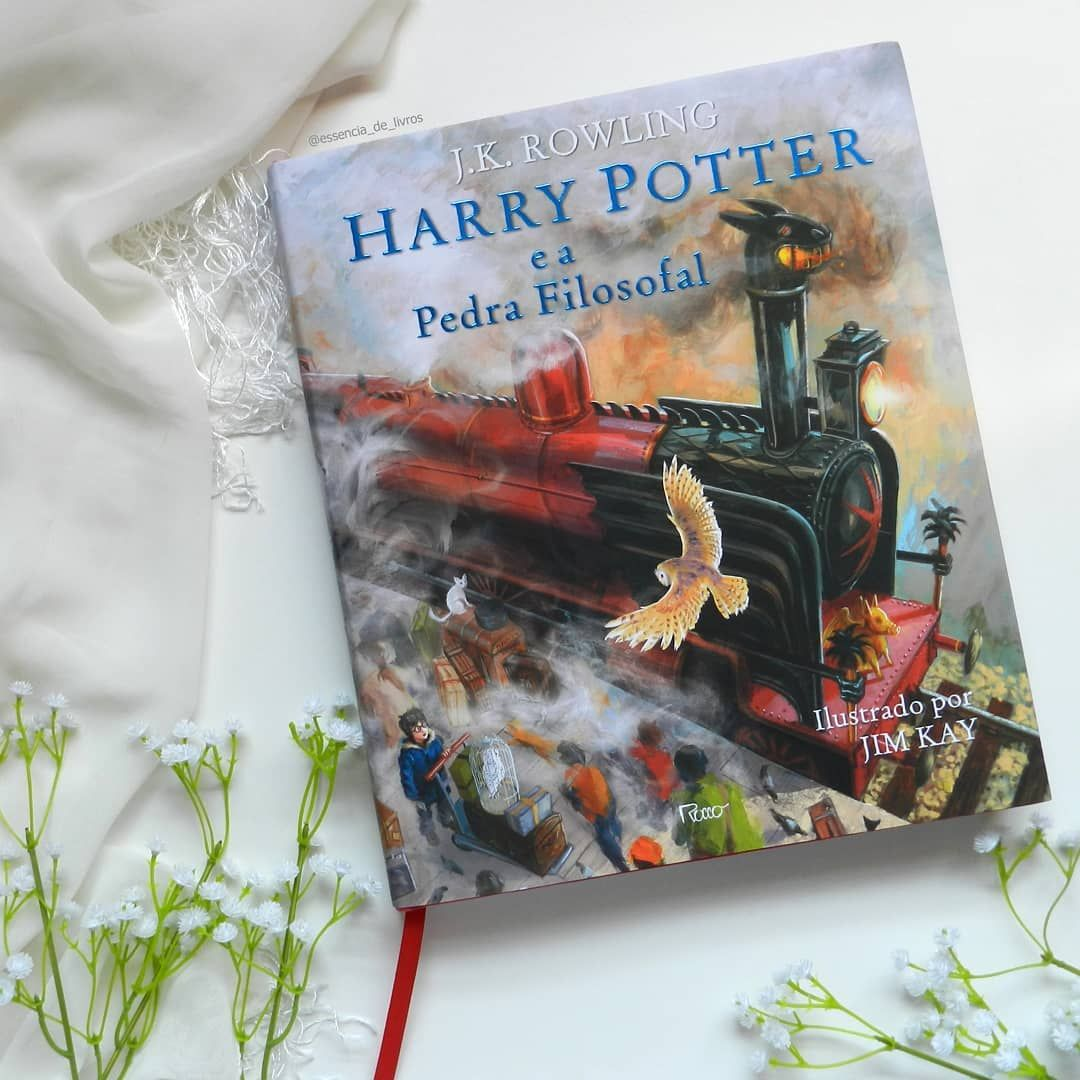 Harry Potter E A Pedra Filosofal Ilustrado Editora Rocco Harry