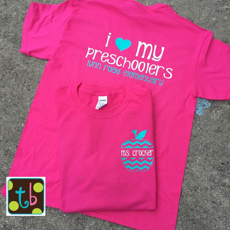 Personalized Monogram Teacher Quote Tees Teacher T Shirt