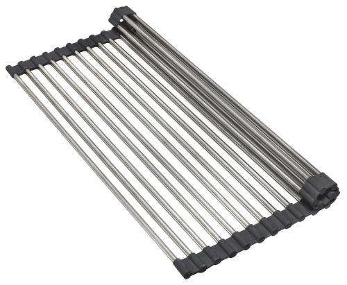 Compre Escorredor de Louças em Aço Inox Flex Drainer 42 cm na Via Inox