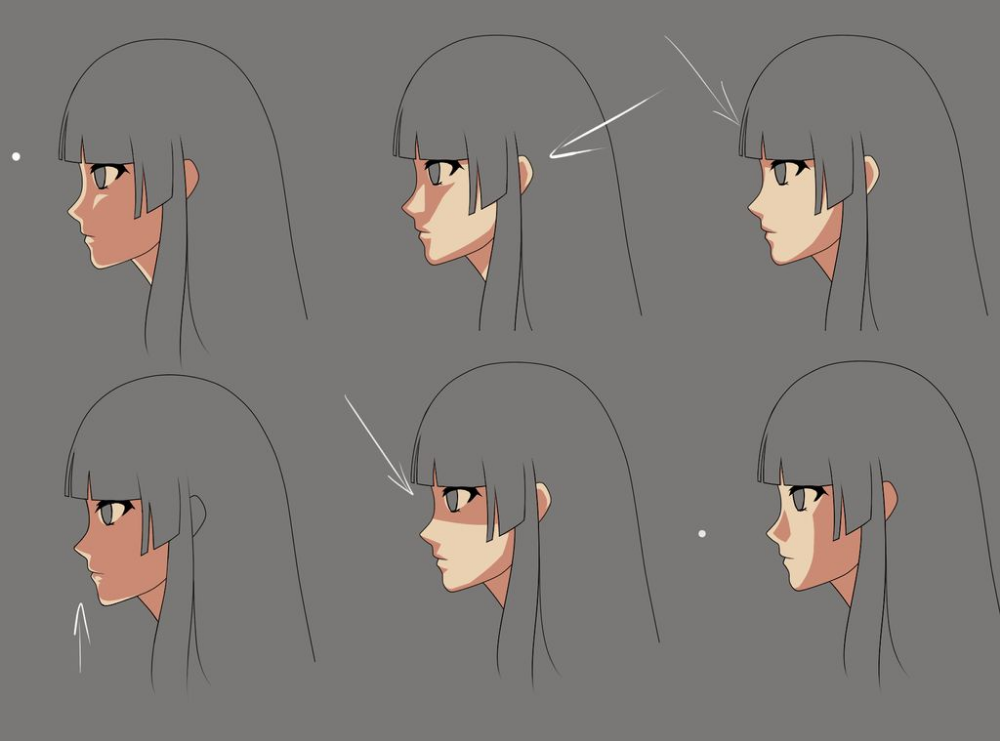 Anime Face Shading Practice2 By Momodesuuu On Deviantart Shadow Drawing Anime Shadow Anime