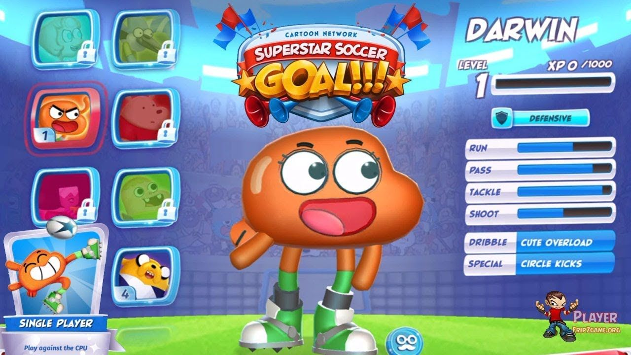 Cn Superstar Soccer Goal Unlocked Darwin Walkthrough Gameplay Darwin Soccer Goal Superstar