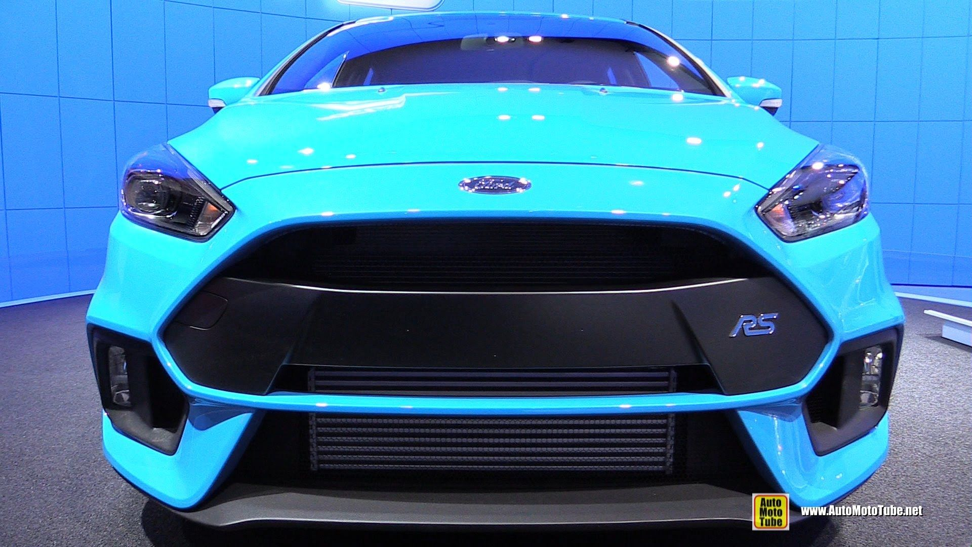 2016 ford focus rs exterior and interior walkaround 2015 new york au