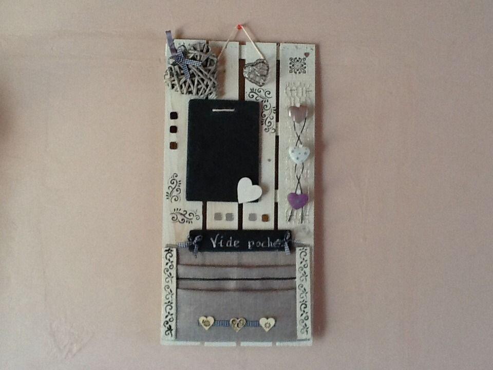 tableau mémo de cuisine en matériaux recyclés bois et ardoise : Déc ...