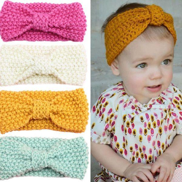 Knit Crochet Headband   Tejido