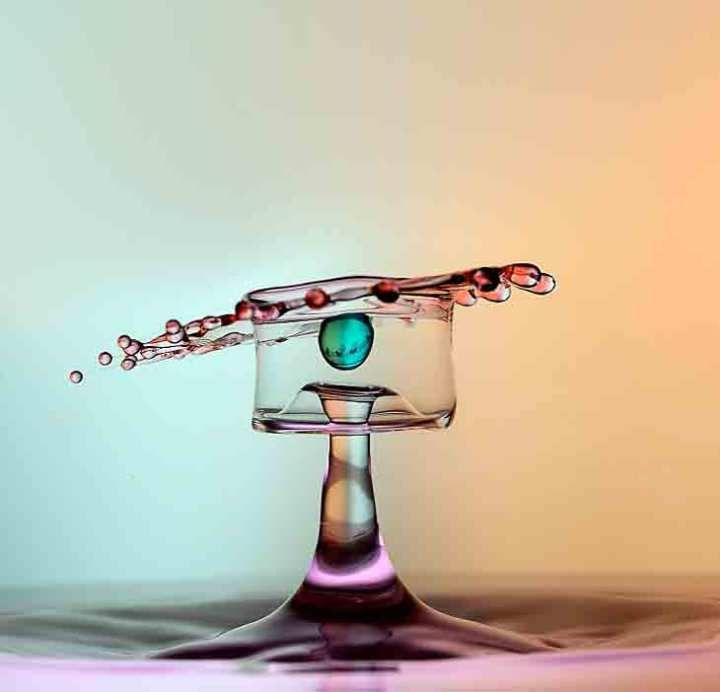 صور قطرات الماء من قرب Novelty Lamp Table Lamp Novelty