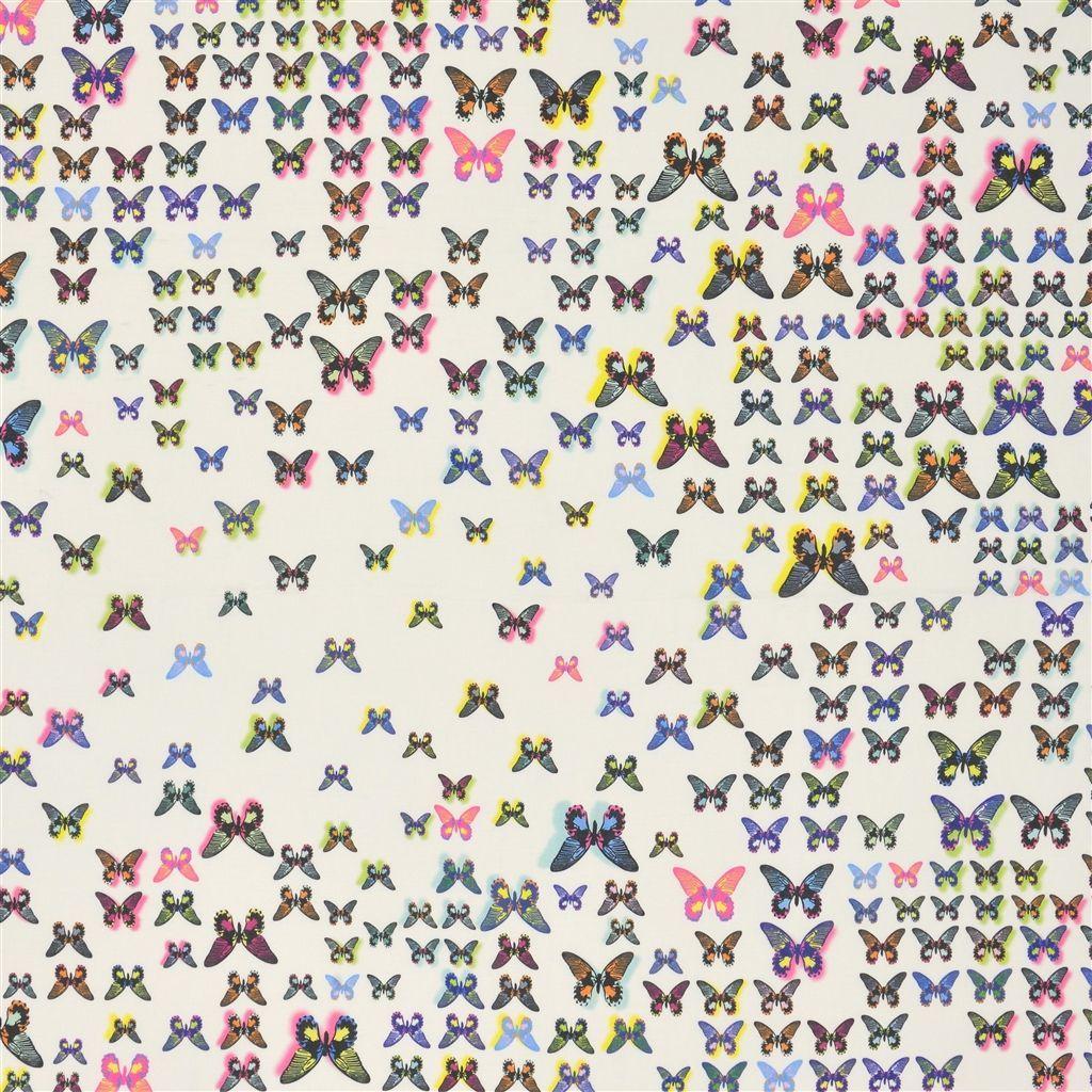 Rio perroquet fabric christian lacroix linge de maison décoration maison rideaux