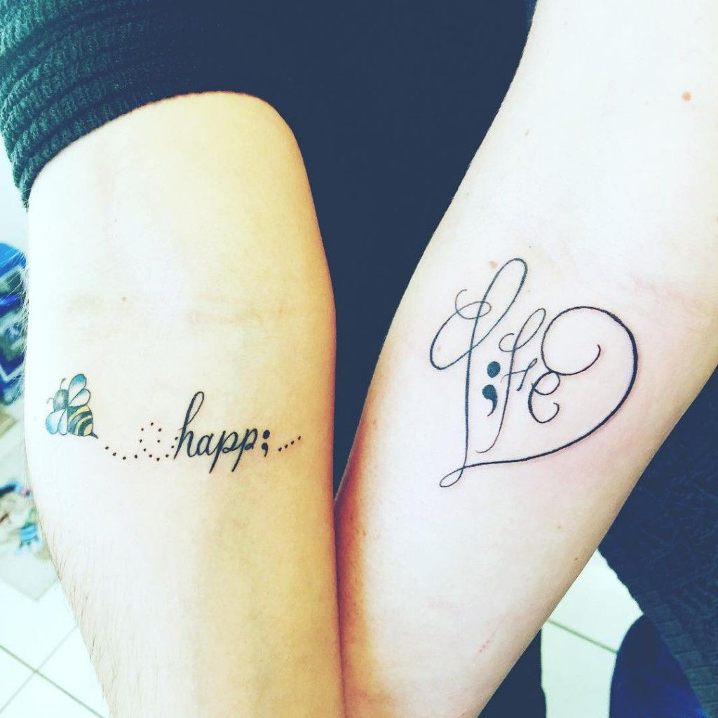 6d6400519 Amazing Semicolon Tattoo Designs with Unbelievable Meanings   Ink I ...