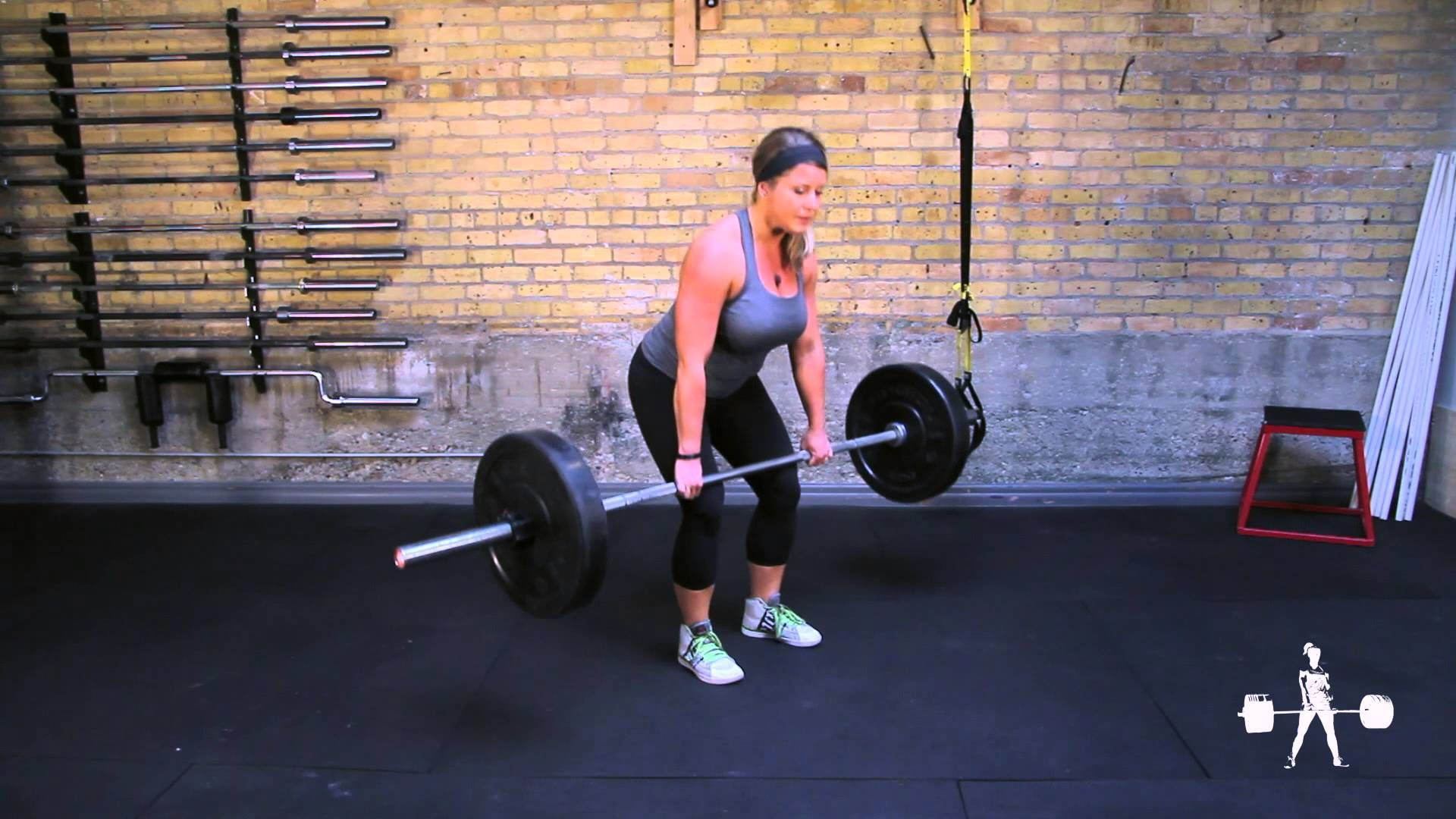 Unapologetically Powerful Demo Barbell Paused Deadlift