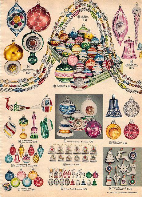 1956 sears christmas catalog nostalgische weihnachtsdeko for Nostalgische weihnachtsdeko