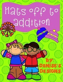 Addition! Use the pictures or master your addition fact fluency!