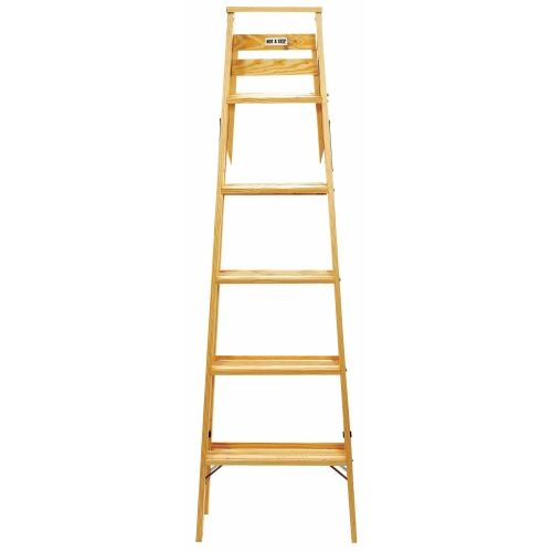 Babcock Type Ii Wood Step Ladder Ace Hardware Wood Steps Step Ladders Wooden Ladder