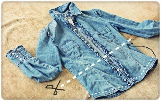 Woman Kangol Denim Shirt Jacket BlouseKangol vintage Denim Shirtjeans Shirt BlouseGirl Woman Denim Jacket Shirt Bleach WashedBig Size