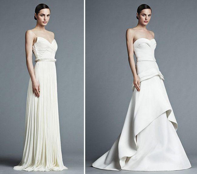 J. Mendel 2015 Bridal Collection | Wedding trends, Green weddings ...