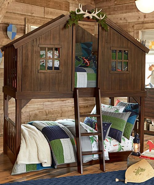 Tree House Bunk Bed A Magical Retreat For Your Child This Evokes The Spirit And Eal Of An Outdoor Fort
