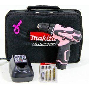 makita df330dwxp 10 8v li ion akkuschrauber set 39 pink. Black Bedroom Furniture Sets. Home Design Ideas