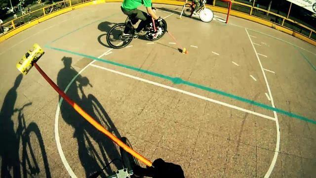 2do Torneo Aniversario Hardcourt Bike Polo El Progreso. Video by POiO.
