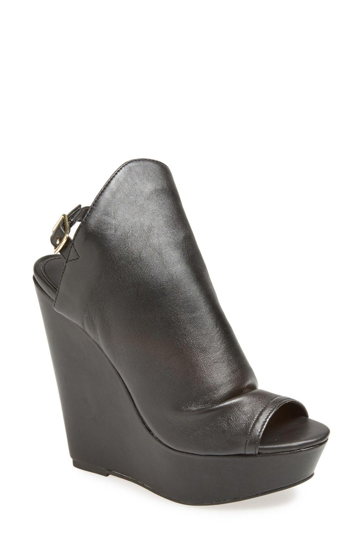 'Drapey' Wedge Sandal (Women) by Steve Madden on @nordstrom_rack