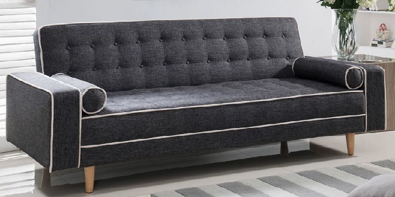 Delicieux Vintage Fabric Sleeper Sofa