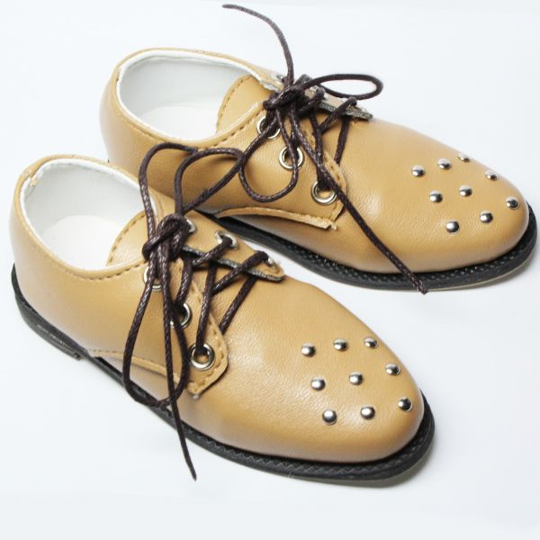 Sienna Brown Nail Shoes for SD 13 Boy