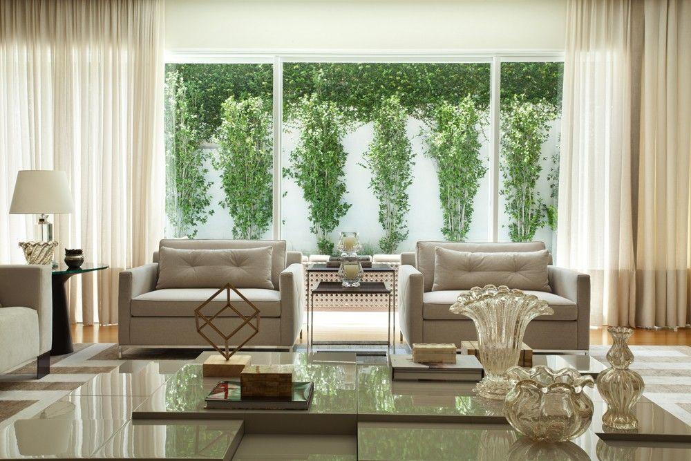 Casa de 550 m² exibe espaços unificados e acabamentos naturais - amerikanische küche einrichtung