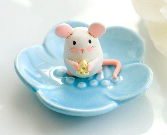 Polymer clay animals