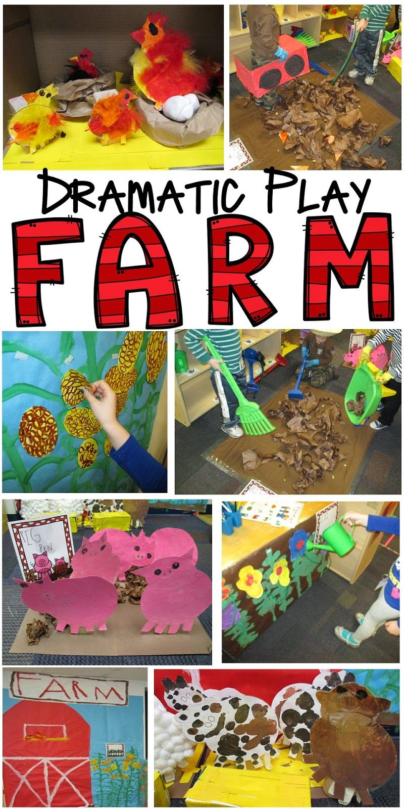 Farm in the Dramatic Play Center for preschool, pre-k, and ...