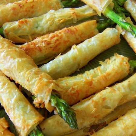 Asparagus Phyllo Recipe | Key Ingredient