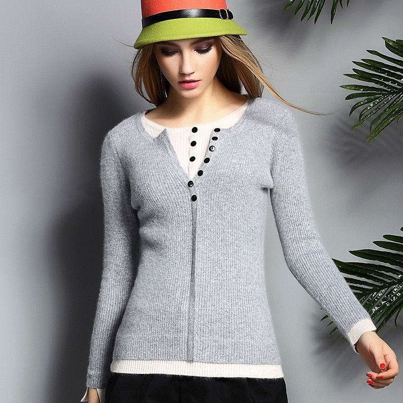 Aliexpress.com : Buy 100% Cashmere Sweater Women Autumn and Winter ...