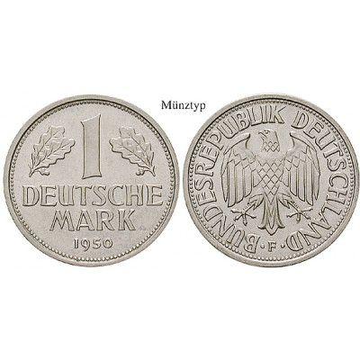 Bundesrepublik Deutschland, 1 DM 1968, G, PP, J. 385