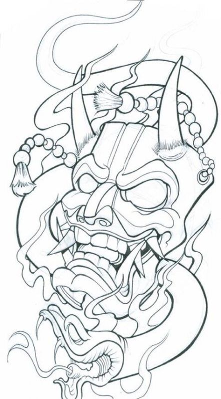 Tattoo Outline Designs : tattoo, outline, designs, Trendy, Tattoo, Ideas, Forearm, Outline, Japanese, Samurai, Drawing,, Design, Drawings