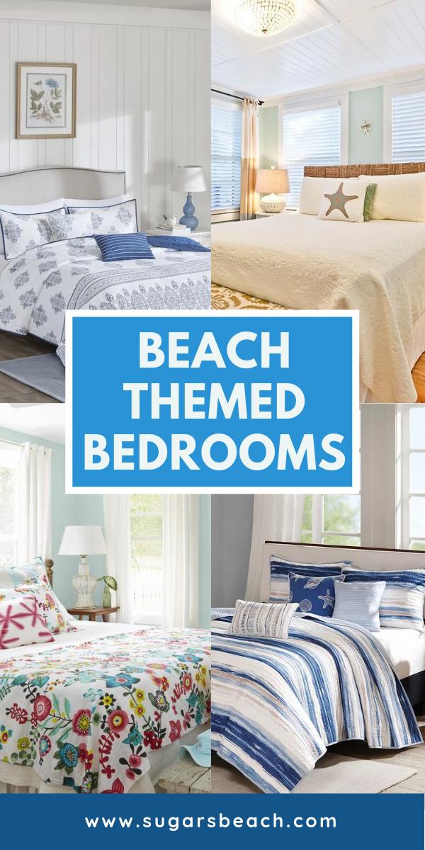 Beach Themed Bedrooms Ideas | Beach House Decor Ideas ...
