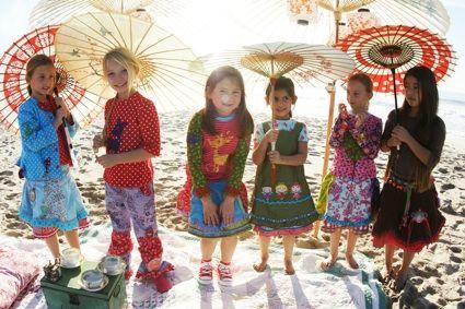 From wicked book 'Sewing Clothes Kids Love' (Schnitte auf dem Bild:Insa,Dortje,Feliz und Imke )