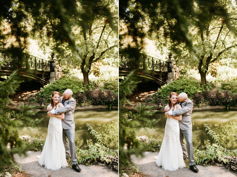 St Louis Wedding Photography Missouri Lafayette Square Park Bride