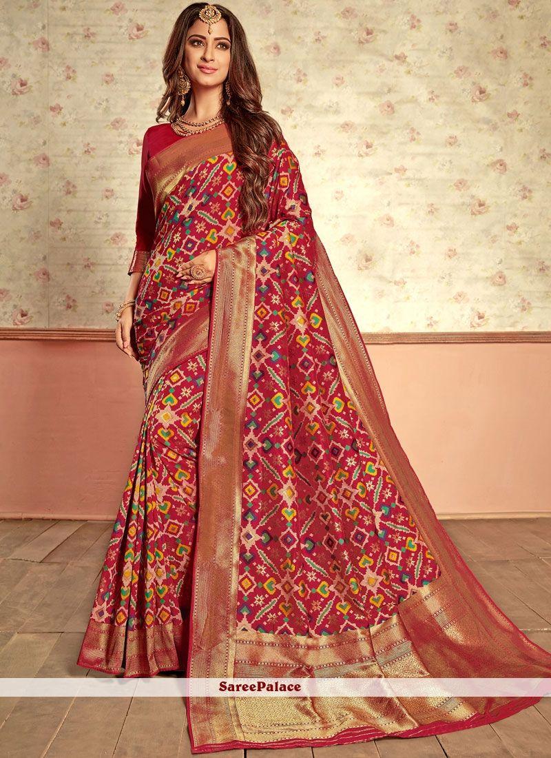 82ea0c2def699 Weaving Multi Colour Patola Silk Designer Traditional Saree in 2019 ...