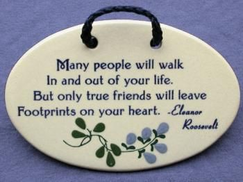 Inspirational Quotes About True Friendship True Friends Leave