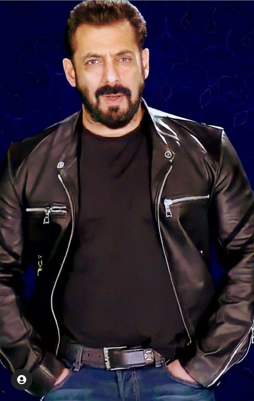 Pin By Ubbsi On Salman Khan In 2021 Leather Jacket Salman Khan Jackets [ 1349 x 855 Pixel ]