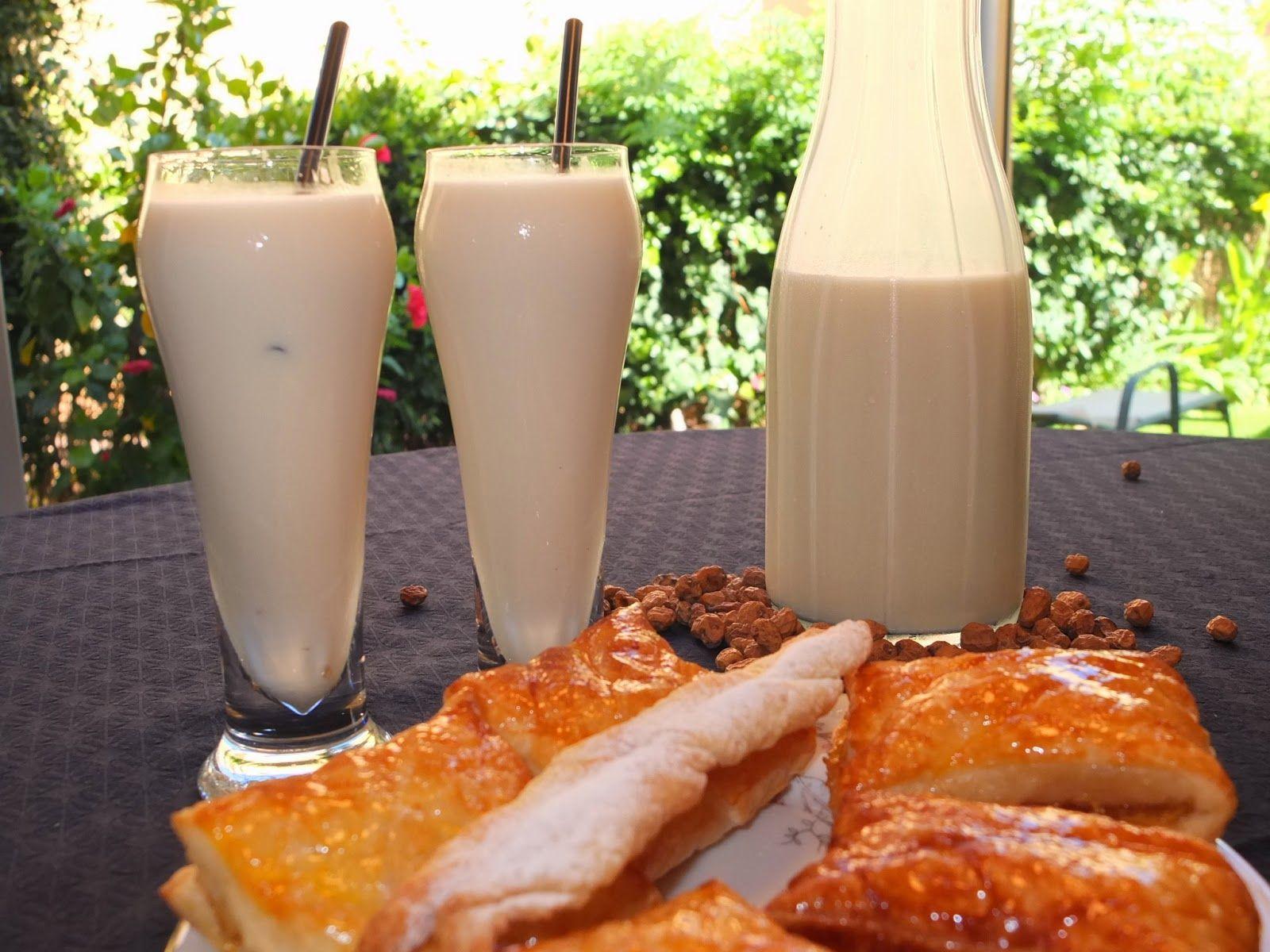 Cocinando con Lola García: ¡Una horchata y un tronquet!!!