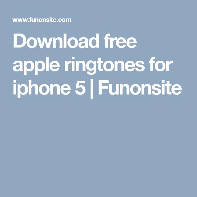 free ringtone iphone 5 download