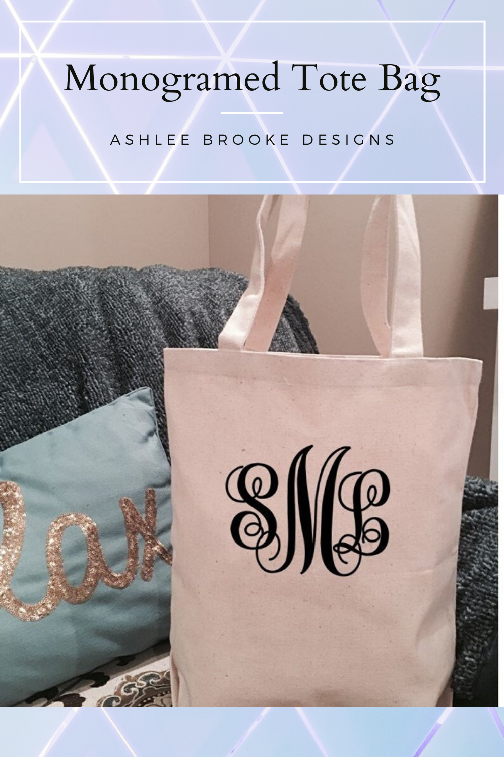 Gift For Her, Reusable Grocery Bag Bridesmaid Tote Bag Personalized Market Bag Teacher Tote Bag