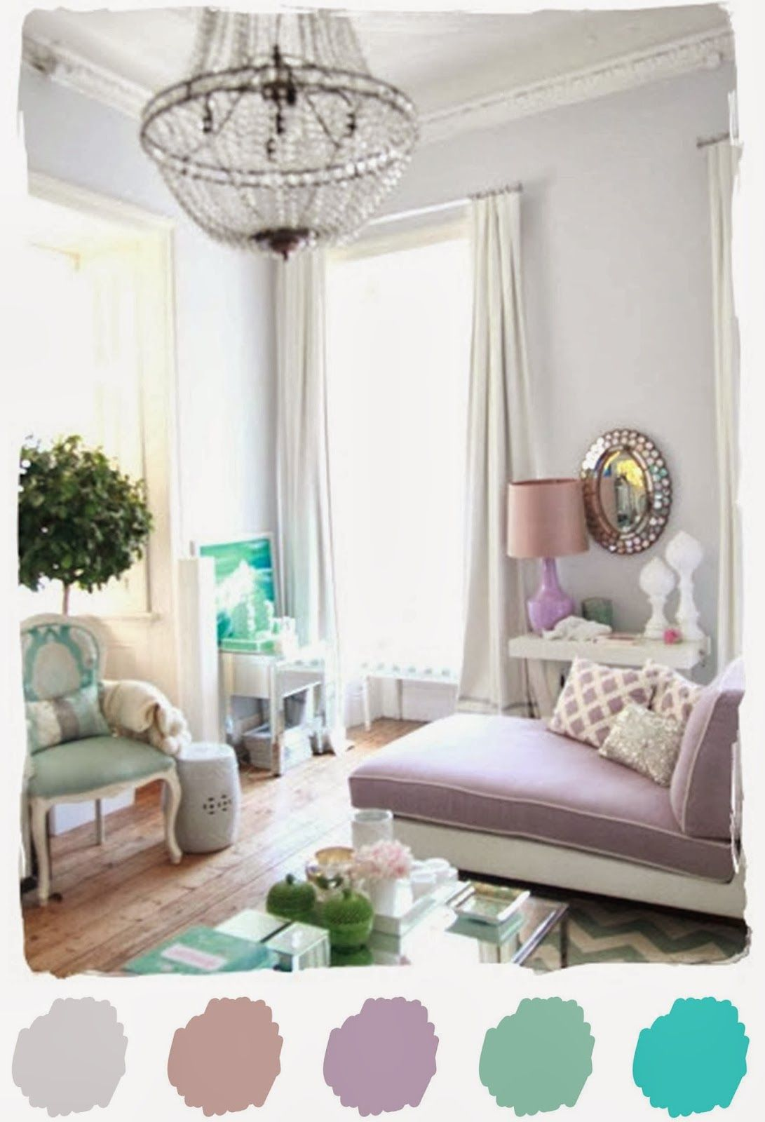 Color Palette Love   Whimsical Purple Gray   Colors   Pinterest ...