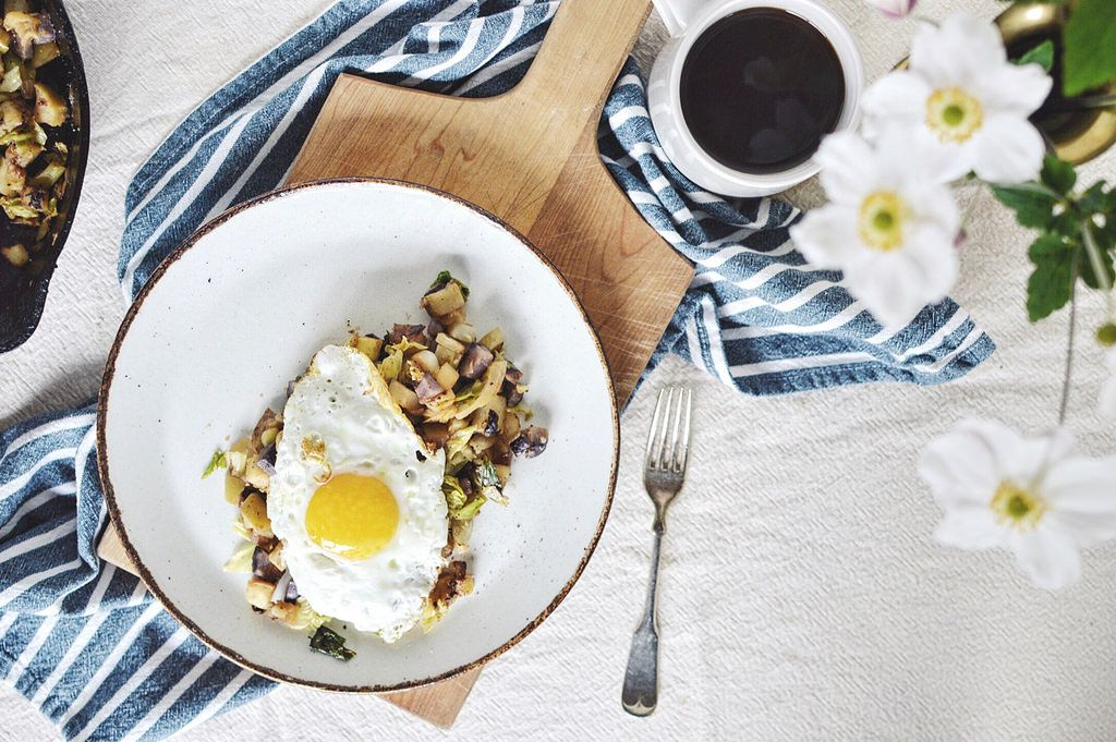 Potato Onion Apple Cabbage Hash from holly peterson